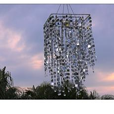 GB Home & Garden Rectangular Shimmering Chandelier