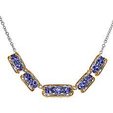 "Gems by Michael Valitutti 18"" Gemstone Station Necklace"
