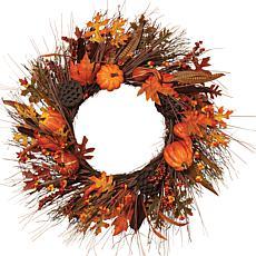 """Gerson 30"""" Autumn Fields Wreath"""