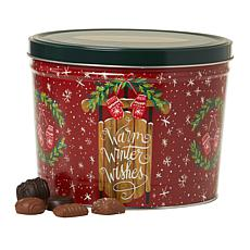 Giannios 5.5 lbs. Assorted Chocolates in Warm Wishes Tin- Rec.December