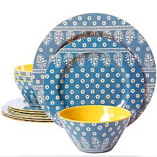 Gibson Studio California Zoey 12-piece Dinnerware Set