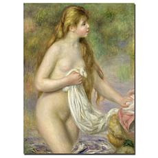 "Giclee Print - Bather with Long Hair (1895) 18"" x 24"""