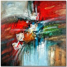 """Giclee Print - Cube Abstract IV 35"""" x 35"""""""