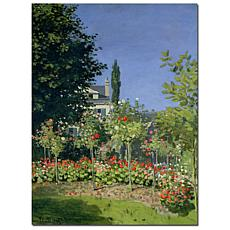 Giclee Print - Flowering Garden at Sainte-Adresse, 1866
