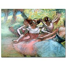 """Giclee Print - Four Ballerinas on the Stage 24"""" x 18"""""""