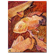 "Giclee Print - Golden Koi 24"" x 32"""