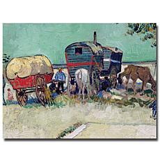 Giclee Print - Gypsy Encampment, Arles, 1888