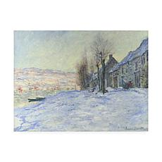 Giclee Print - Lavacourt Under Snow