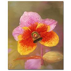 Giclee Print - Orange-Pink Orchid