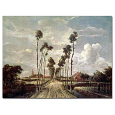 """Giclee Print - The Avenue at Middelharnis 47"""" x 35"""""""