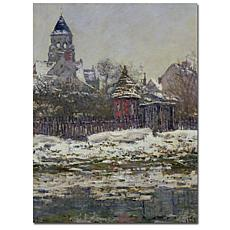 """Giclee Print -  The Church at Vetheuil 1879 24"""" x 32"""""""