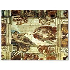 "Giclee Print - The Creation of Adam 47"" x 35"""