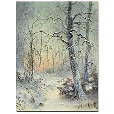 "Giclee Print - Winter Breakfast 18"" x 24"""