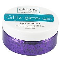 Gina K Designs Glitz Glitter Gel 2.3oz - Wild Lilac
