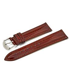 Giorgio Milano Brown Textured Leather Watch Straps