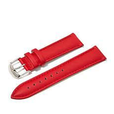 Giorgio Milano Red Textured Leather Watch Straps