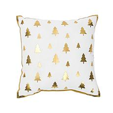 Glam Mini Tree Printed Pillow