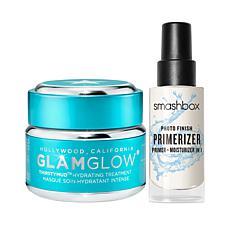 GLAMGLOWxSmashbox Bundle THIRSTYMUD Hydrating Treatment and Primerizer