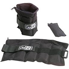GoFit Adjustable 5 lb. Ankle Weights