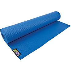 GoFit GF-YOGA Yoga Mat with Yoga Position Poster