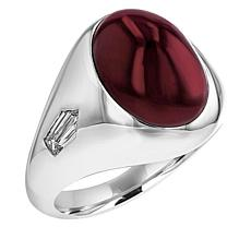 Gold & Diamond Source® Men's Ruby & Diamond Ring