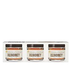 Golden Door 3-pack of Gourmet Flavored Honey