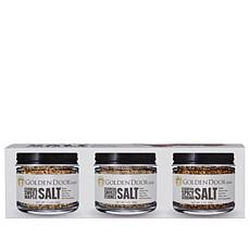 Golden Door 3-pack of Gourmet Salts