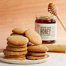 Golden Door Ginger Cookies and Wildflower Honey