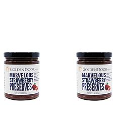 Golden Door Marvelous Strawberry Preserves 2-pack