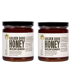 Golden Door Wildflower Honey - Set of 2
