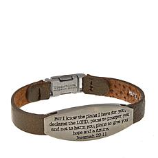"Good Work(s) ""His Words That Give You Hope"" Jeremiah 29:11 Bracelet"