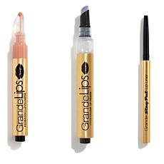 Grande Cosmetics StayPut Liner, Primer & Toasted Apricot Lip Gloss