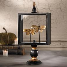 Grandin Road Butterfly Glass Display - Small