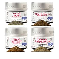 Gustus Vitae Coffee House 4-pack of Gourmet Cane Sugar