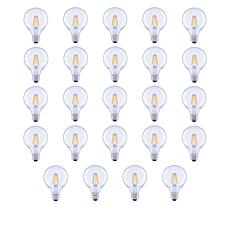 GVL 40-Watt G25 Soft White LED Bulbs 24-pack with Clear Finish
