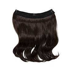 "Hair2wear Christie Brinkley Extension - 12"" Dark Brown"