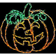 Halloween Indoor/Outdoor LED Lights  Happy Jack-O-Lantern (31 x 29 ...