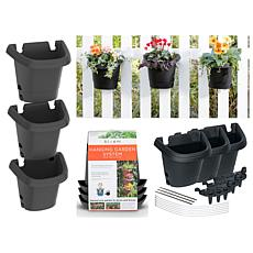 Hanging Garden Planter System 3 Pack