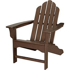 Hanover All-Weather Adirondack Chair - Mahogany