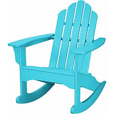 Hanover All-Weather Adirondack Rocking Chair - Aruba