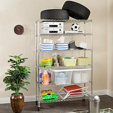 Happimess Juliet 6-Tier Heavy Duty  Wire Rack - Chrome