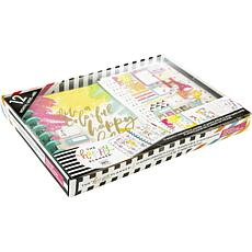 Happy Planner 12-Month Undated Medium Planner Box Kit - Colorful Happy