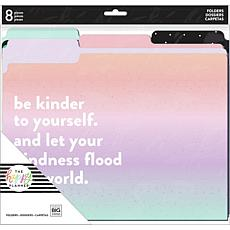 "Happy Planner File Folders 11.75"" x 11.5"" - Be Kind 8-pack"