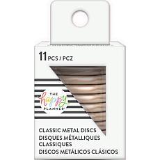 Happy Planner Medium Metal Expander Discs 11/Pkg - Rose Gold