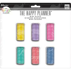 Happy Planner Mini Disc Value Pack - Multi Color 66-pack