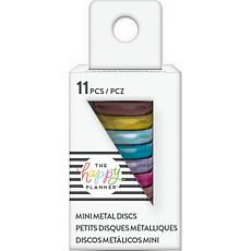 Happy Planner Mini Metal Expander Discs 11-pack - Rainbow