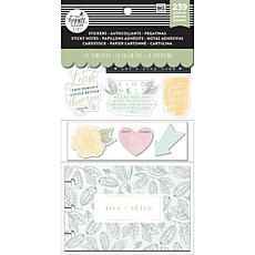 Happy Planner Note Cards/Sticky Note Multi Pack - Homebody, 239-pack