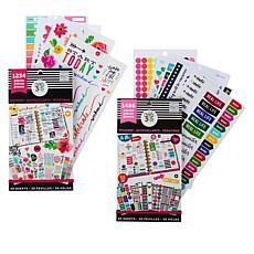 Happy Planner Sticker Value 2-Pack - Everyday Theme