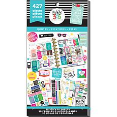 Happy Planner Sticker Value Pack - Quotes Classic