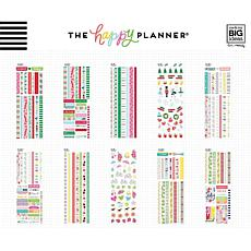 Happy Planner Washi Sticker Book - Seasonal, 451-pack
